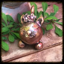 Swarovski Crystal Kitty Urn