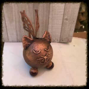 Kitty with Wings Pet Cremation Urn