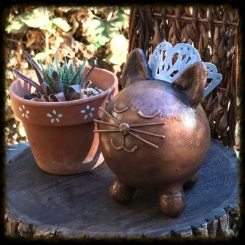 Custom Cat Pet Urn